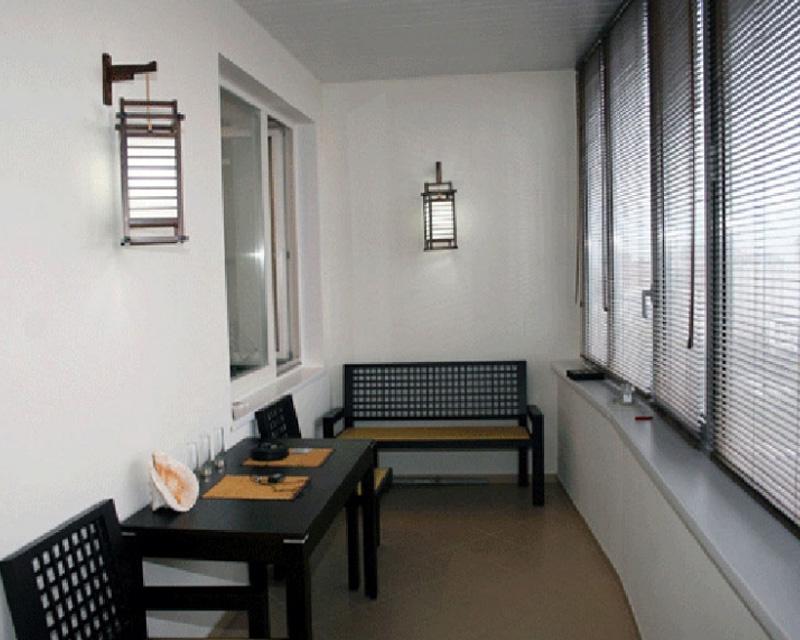 Обустройство балкона: создаем уют