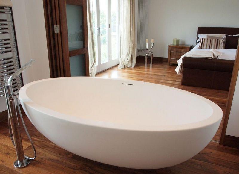 Овальные ванны: виды и их описание