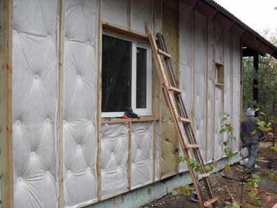 Преимущества наружного утепления стен здания
