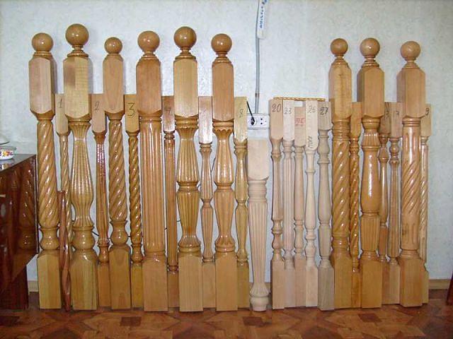 Изготовление балясины из дерева своими руками