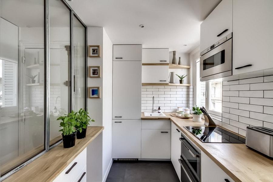 Основные правила дизайна маленькой кухни