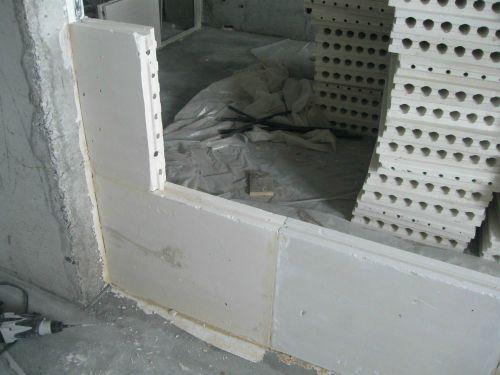 Монтаж пазогребневых плит
