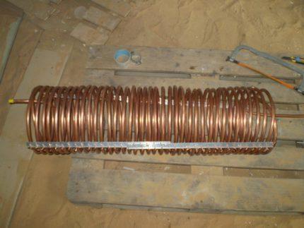Изготовление испарителя и конденсатора