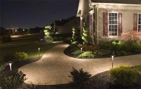 Уличное освещение загородных домов