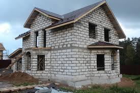 Поэтапное строительство дома из пеноблоков