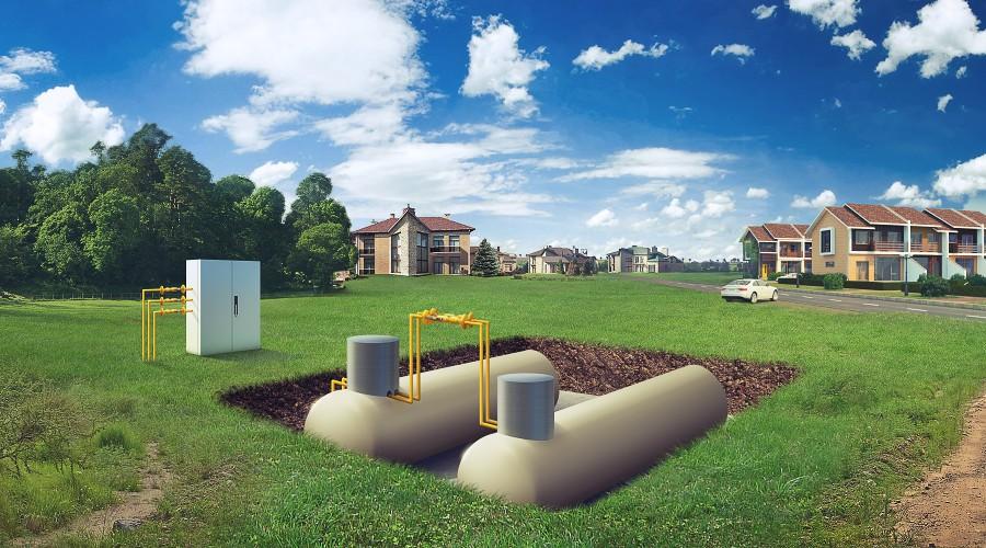 Газгольдер для частного дома – выгодно и удобно