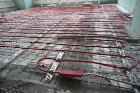 Три совета при монтажа теплого пола в стяжку или плиточный клей