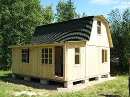 Как строить ломаную крышу