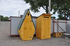 Туалет на дачу «Шалаш»