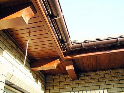 Виды карнизов для крыши