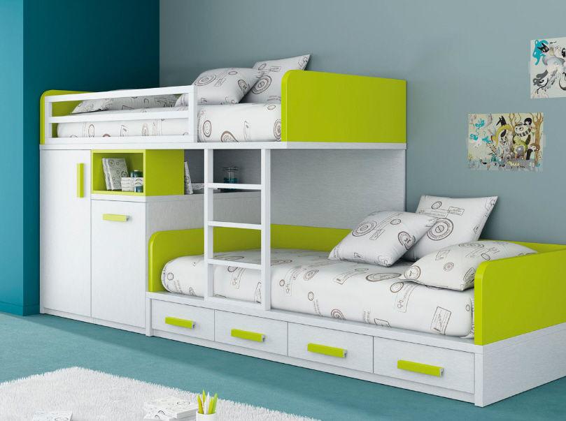 Поиск новой зоны для развлечения ребенка – двухъярусные кровати