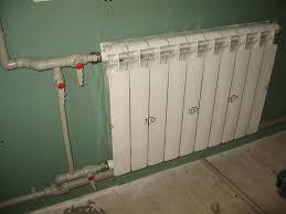 Варианты монтажа радиаторов отопления