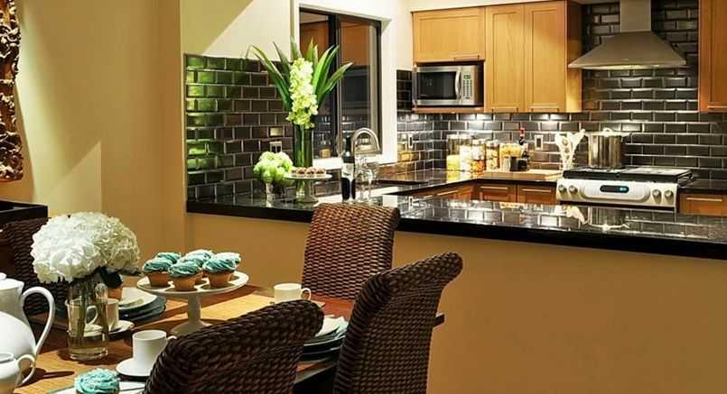 Лучшие варианты материалов для отделки стен на кухне