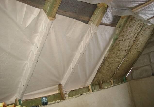 Пошаговая инструкция по утеплению скатной крыши