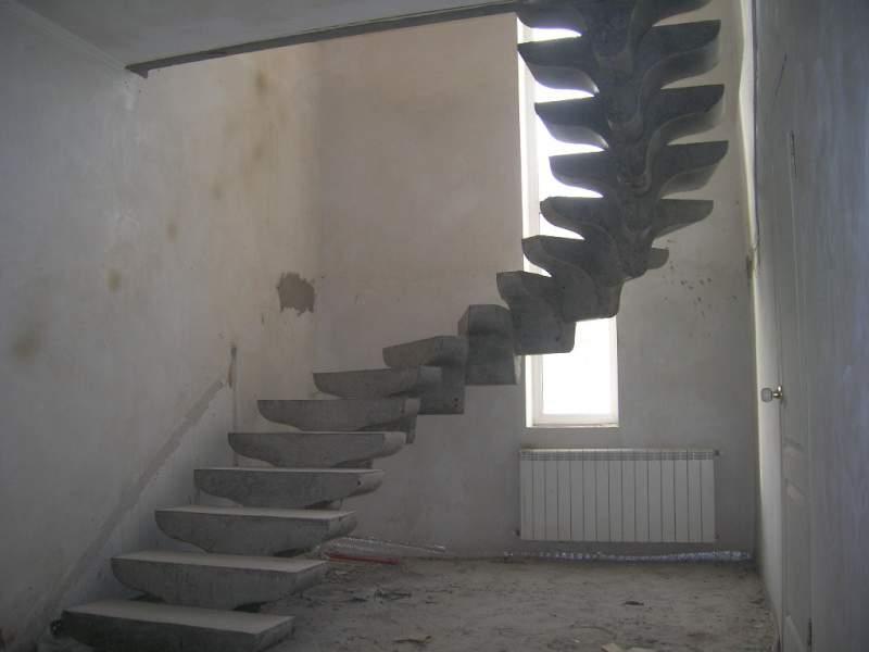 Принципы расчета бетонной лестницы
