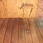 Слив в бане с деревянными полами