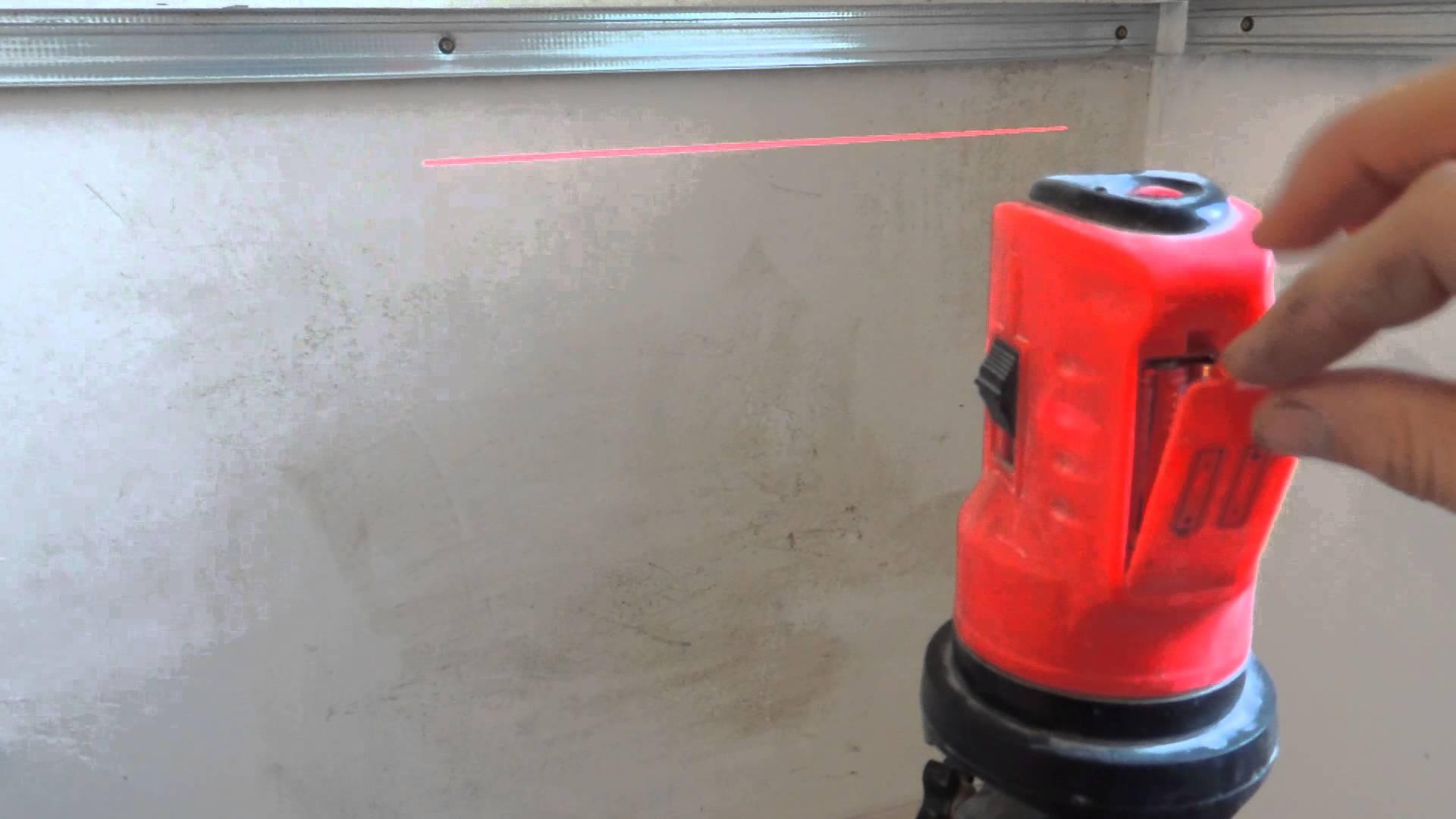 Настраиваем лазерный прибор
