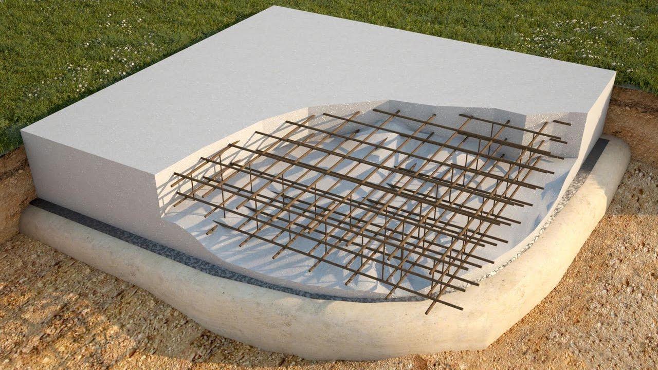 Выполнение армировки бетона