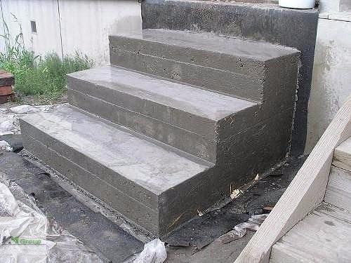 Как сделать крыльцо своими руками из бетона?