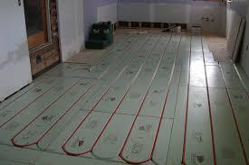 Сухой теплый пол в деревянном доме