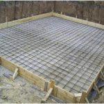 Армирование монолитной фундаментной плиты