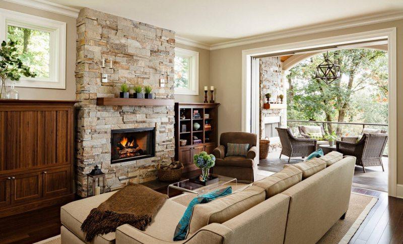 Натуральные камни в помещении — современное дизайнерское искусство