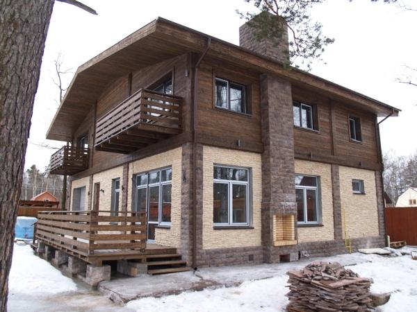 Способы отделки фасадов дома