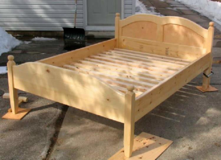Инструкция по изготовлению деревянной кровати