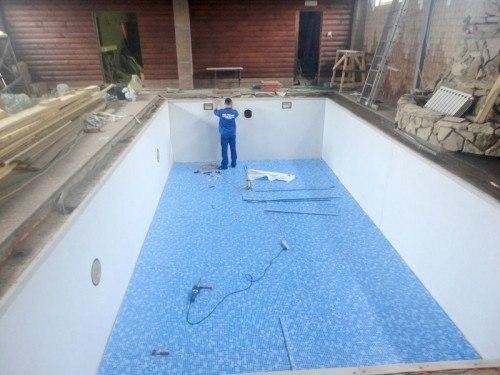 Строительство стационарного бассейна