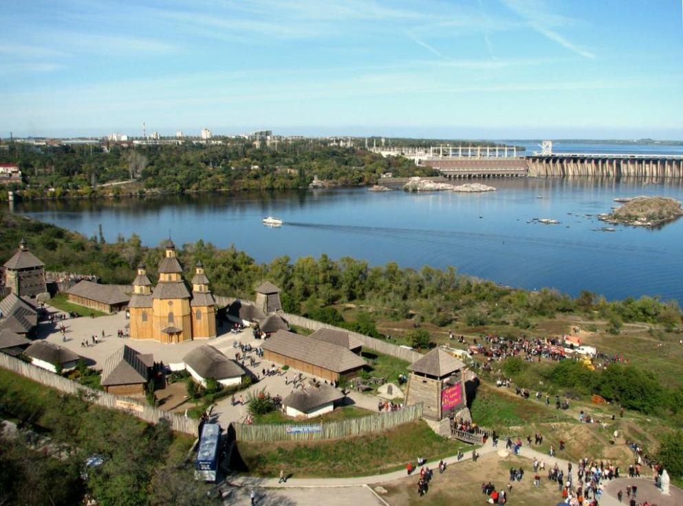 Украина для туристов. Запорожье