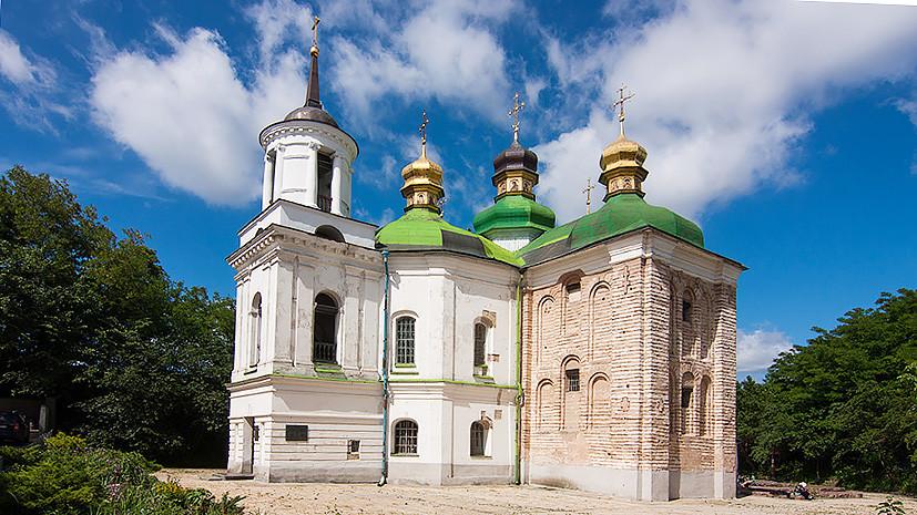 Саркофаг и останки основателя Москвы находятся в Киеве