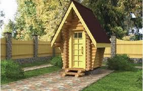 Домик для туалета, купить готовый или построить своими руками?