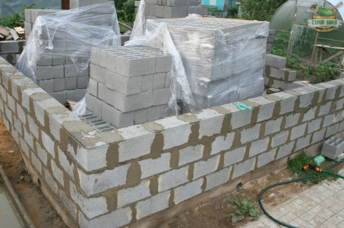 Дома из керамзитобетонных блоков