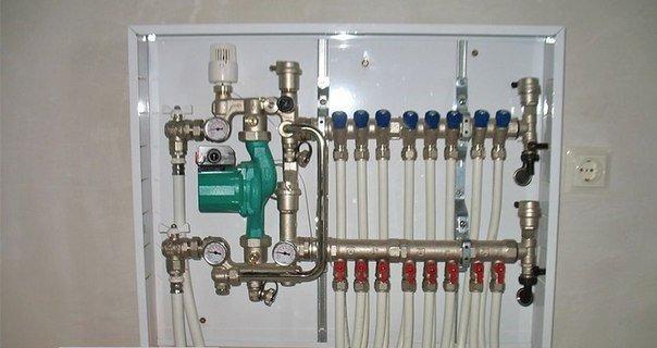 Отопление дома из металлополимерных труб