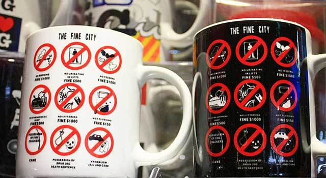 Сингапурские штрафы. Памятка для туристов