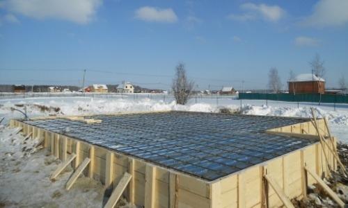 Укладка бетона в холодное время года