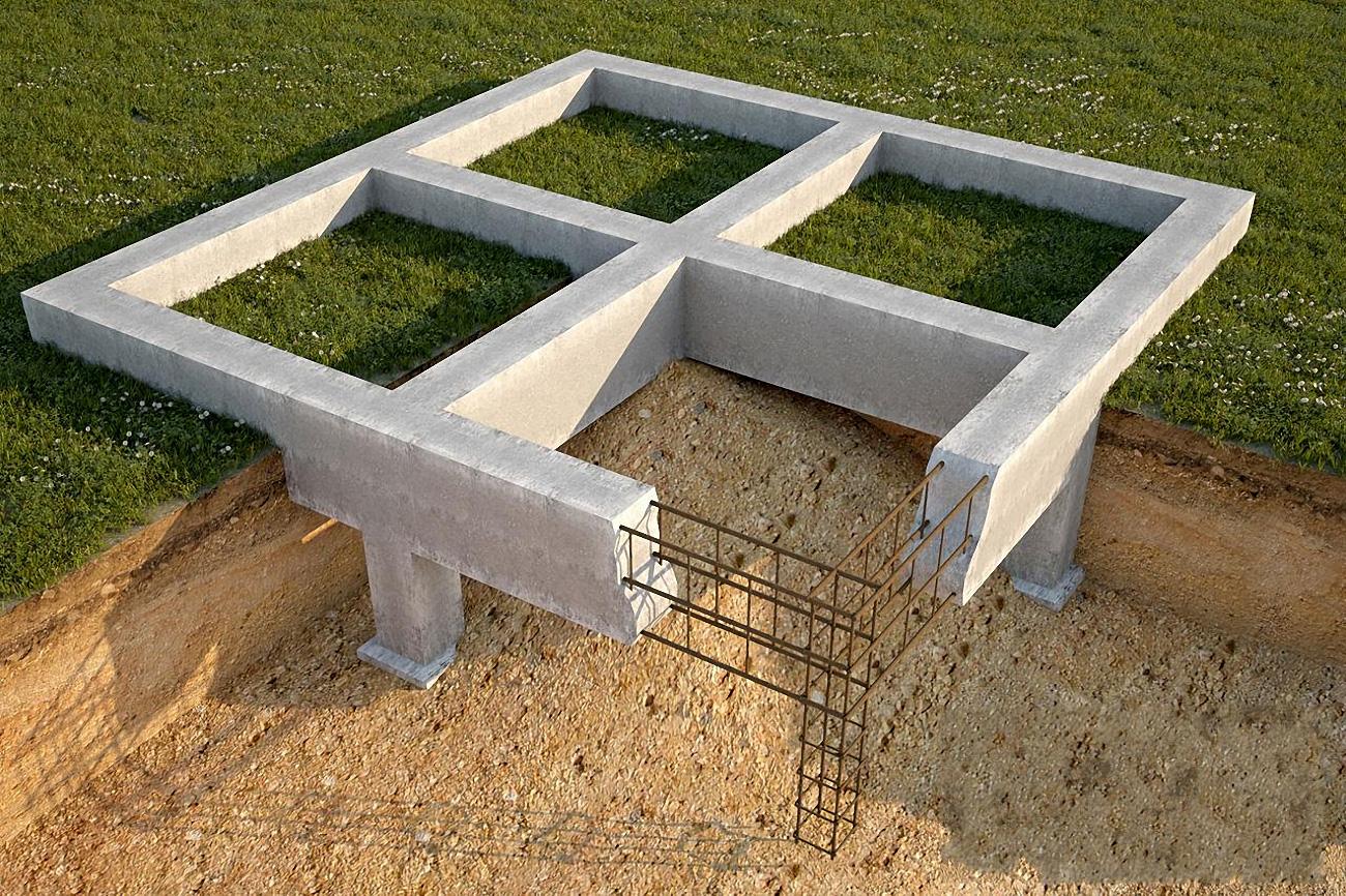 Пример расчета ленточного фундамента по несущей способности грунта для дома из кирпича