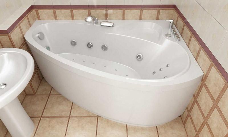 Устройство и установка гидромассажных ванн