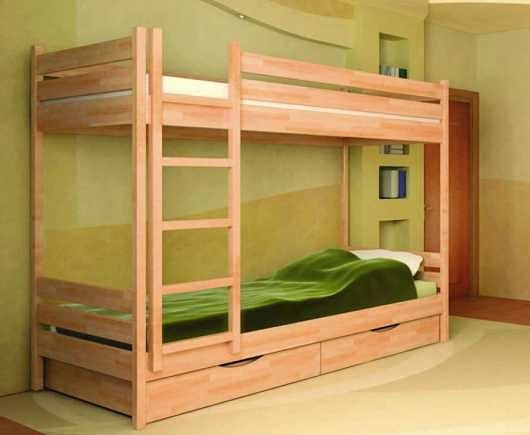 Изготовление удобной двухъярусной детской кроватки