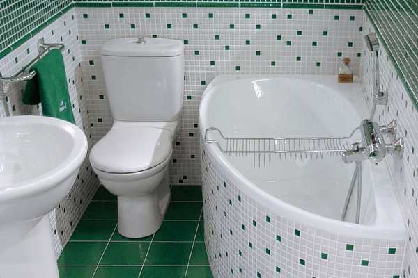 Как делают ремонт ванны под ключ