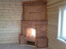 Как построить камин из кирпича: