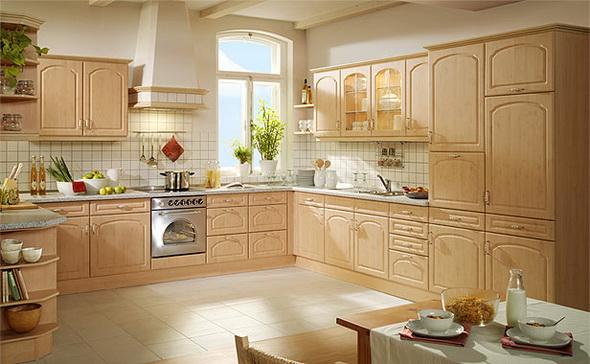 На какой высоте вешают кухонные шкафы