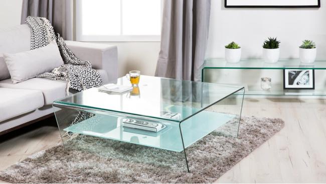 Стеклянная мебель — лучшее украшение интерьера