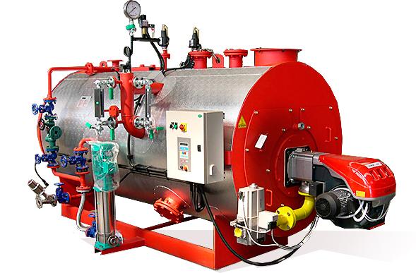 Промышленный газовый парогенератор