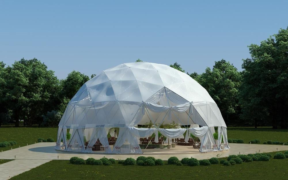Цена аренды сферического шатра