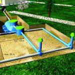 Три способа фильтрации в грунт стоков канализации