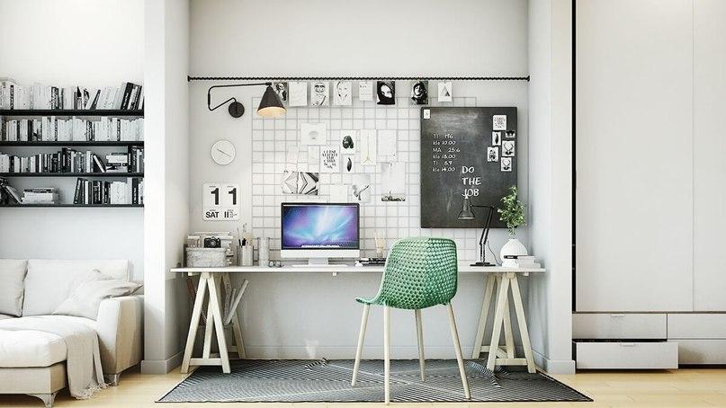 Как создать рабочее пространство для домашнего офиса