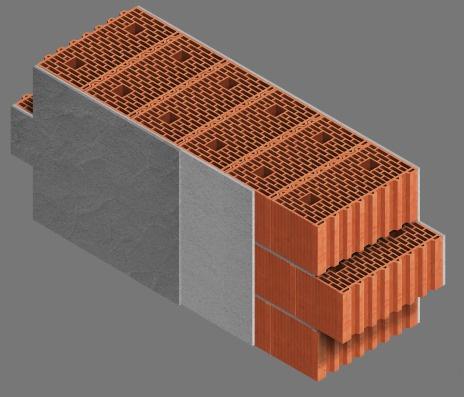 Конструкция наружных стен из блоков