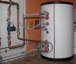 Обвязка котла с емкостью для косвенного нагрева воды