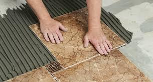 Правильная укладка напольной плитки своими руками